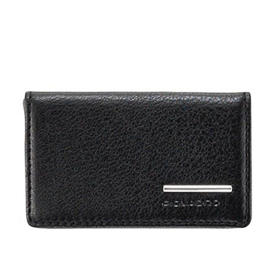 Piquadro Piquadro Modus Visitenkartenetui Leder 10 cm in schwarz