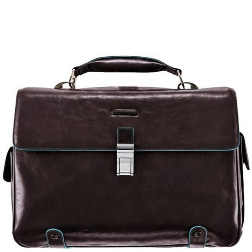 Piquadro Blue Square Aktentasche I Leder 44 cm Laptopfach