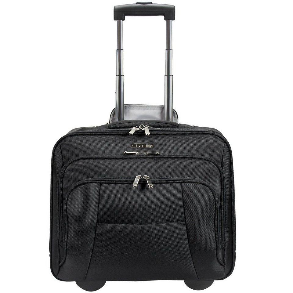 d & n d&n Bussiness & Travel Business-Trolley 41 cm Laptopfach in schwarz