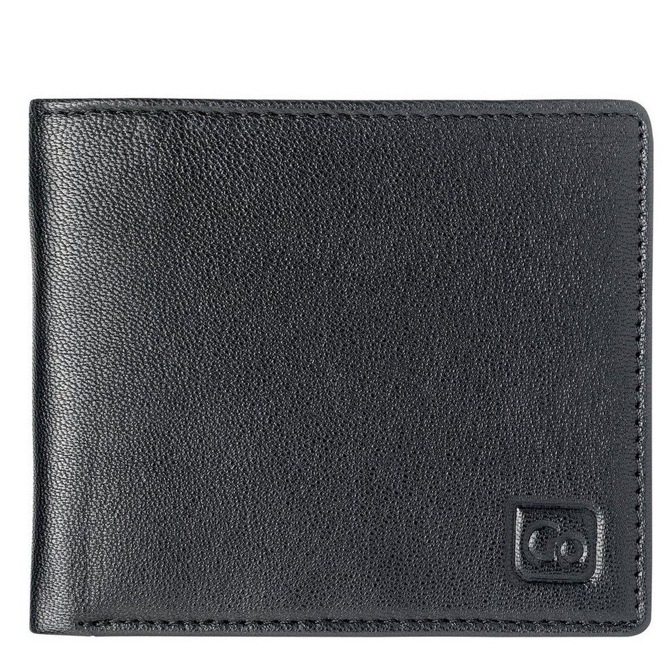Go Travel Go Travel Geldbeutel + Geldgürtel RFID Geldbörse Leder 11 cm in black