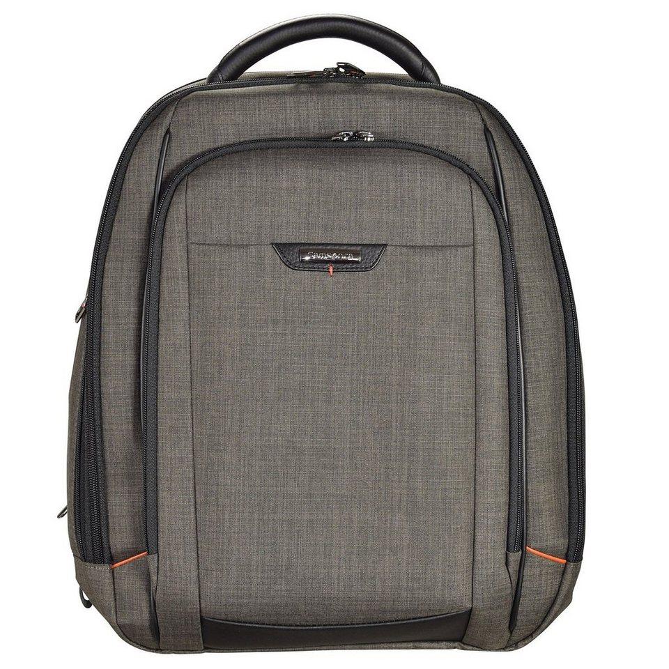 Samsonite Pro-DLX 4 Business Rucksack 48 cm Laptopfach in warm grey