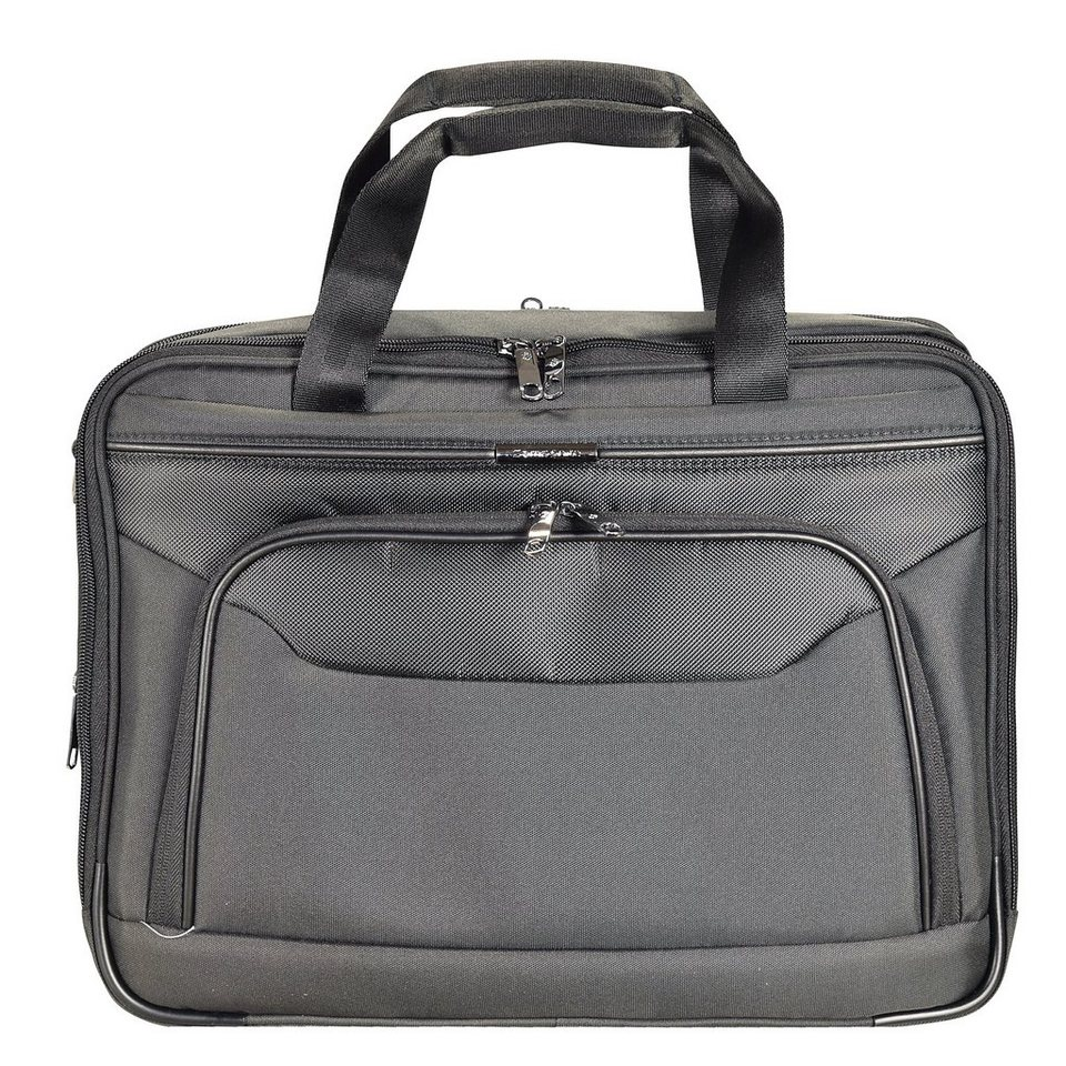 Samsonite Desklite Aktentasche 43 cm Laptopfach in grey