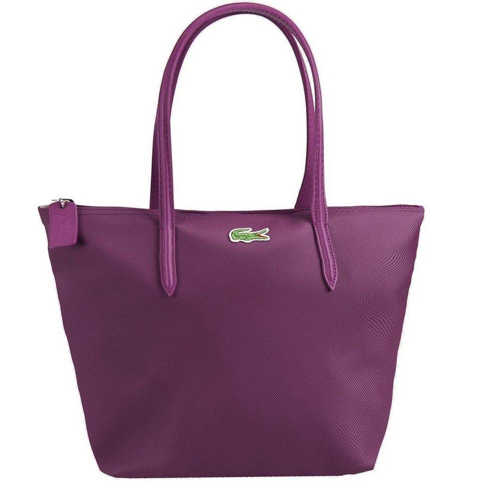 Lacoste L.12.12 Concept 15 Shopper Tasche 24,5 cm in dark purple