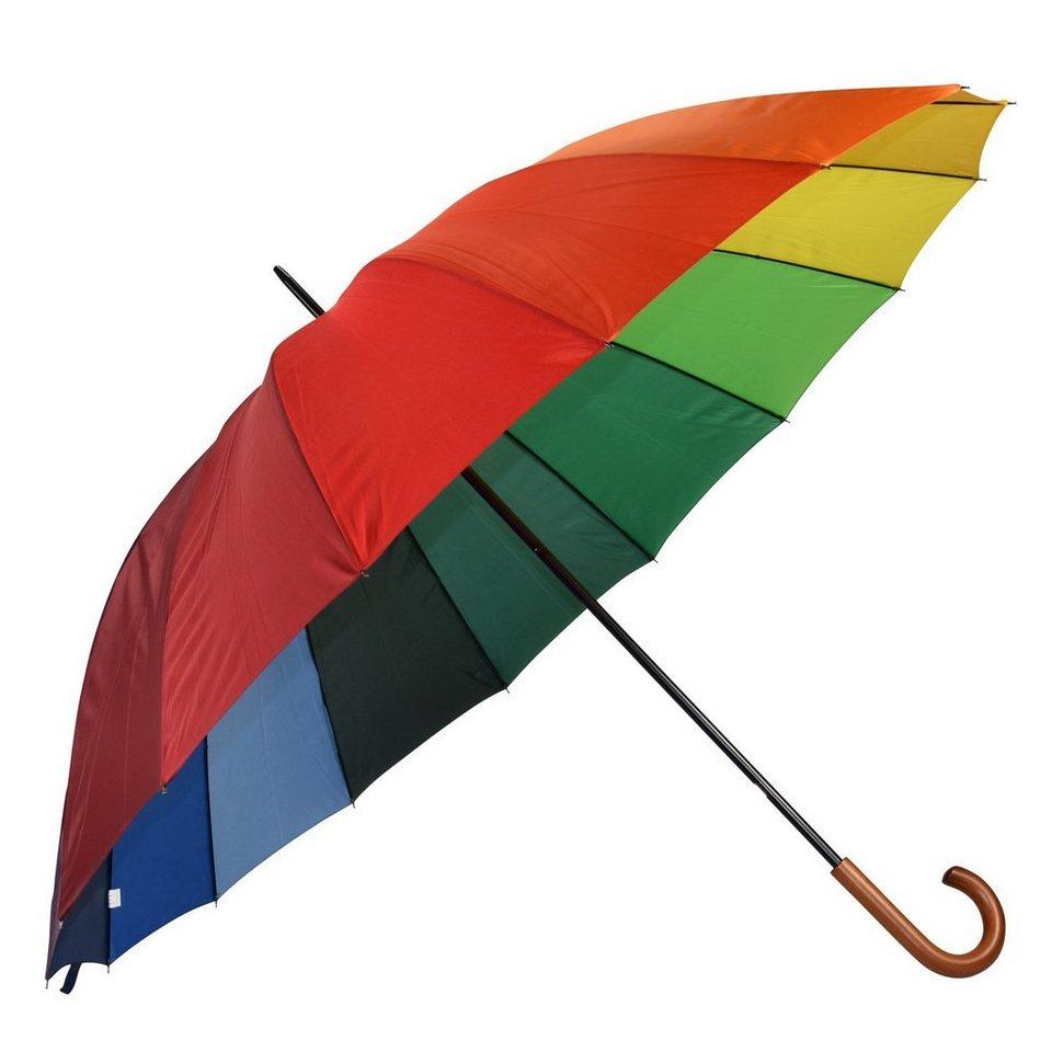 HAPPY RAIN Golf Stockschirm 105 cm in multicolor