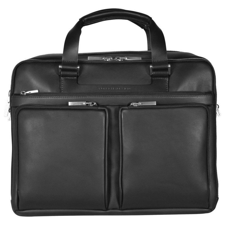 porsche design shyrt leather briefbag lh aktentasche leder. Black Bedroom Furniture Sets. Home Design Ideas