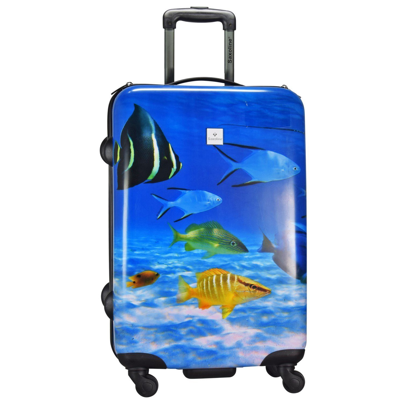 Saxoline Fish Tank Print 4-Rollen Trolley 67 cm