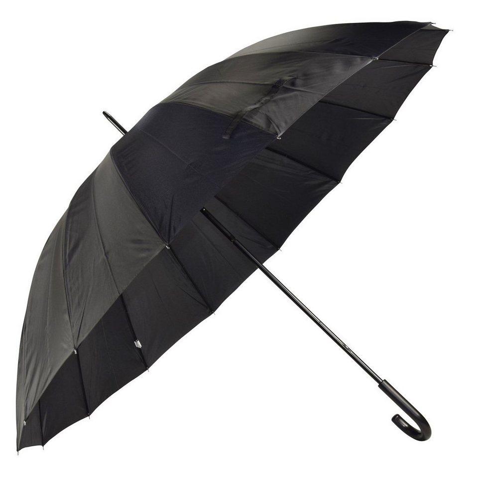 Happy Rain Happy Rain Golf Stockschirm 105 cm in black