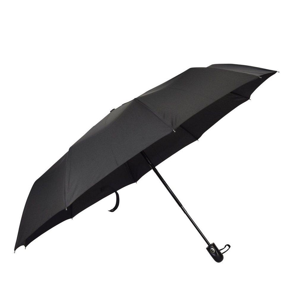 HAPPY RAIN Happy Rain Gents Easymatic Taschenschirm 30 cm in black