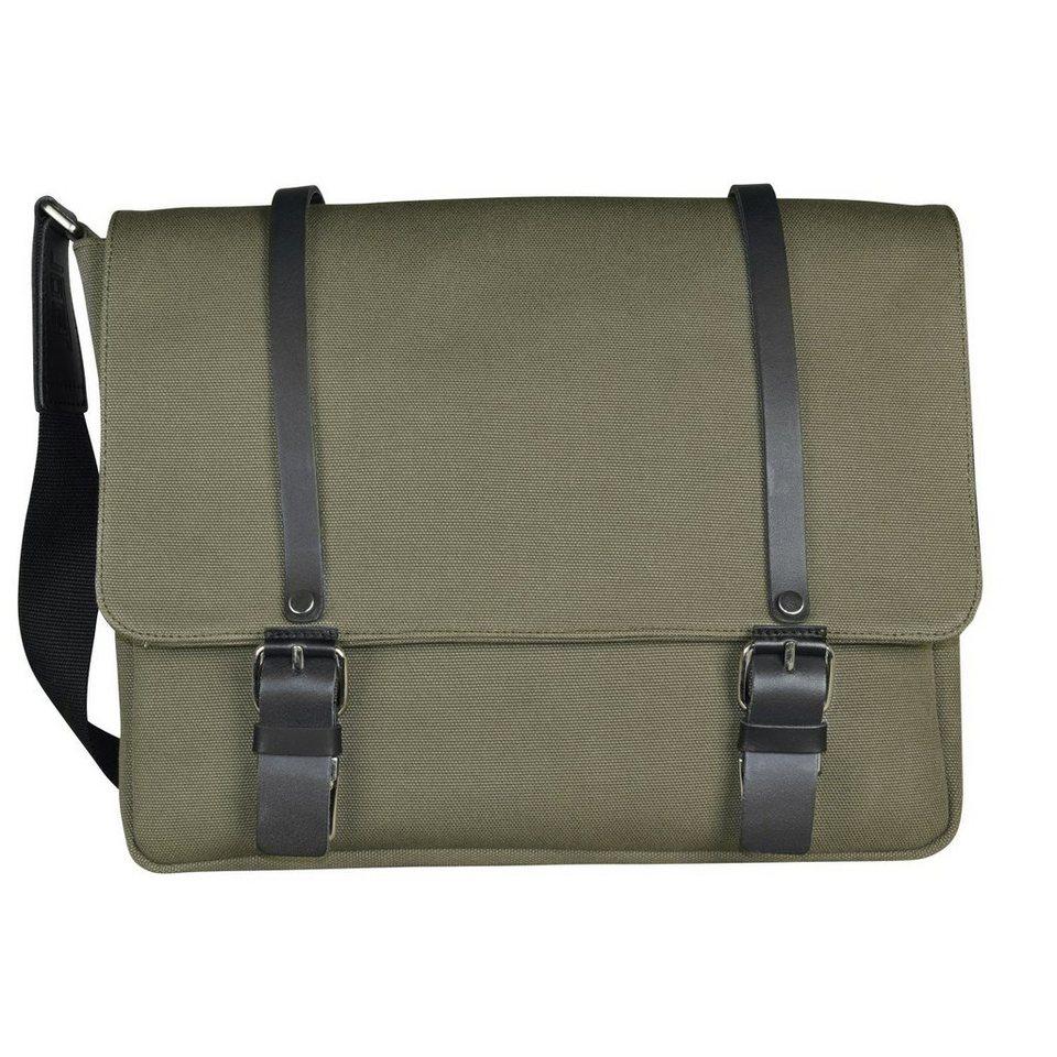 JOST Jost Lund Messenger L Tasche 38 cm Laptopfach in oliv
