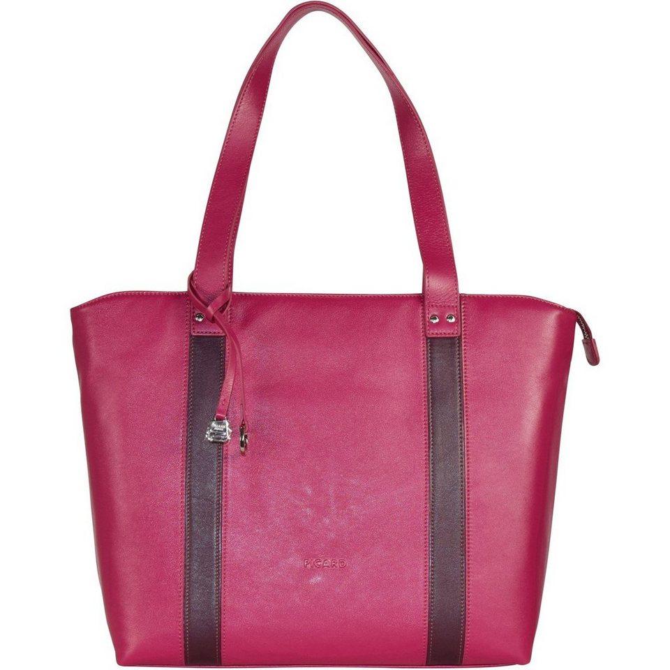 Picard Snow 3 Shopper Tasche Leder 40 cm in pink