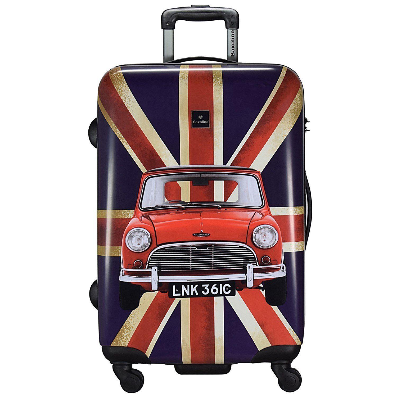 Saxoline® Union Jack 4-Rollen Trolley 77 cm