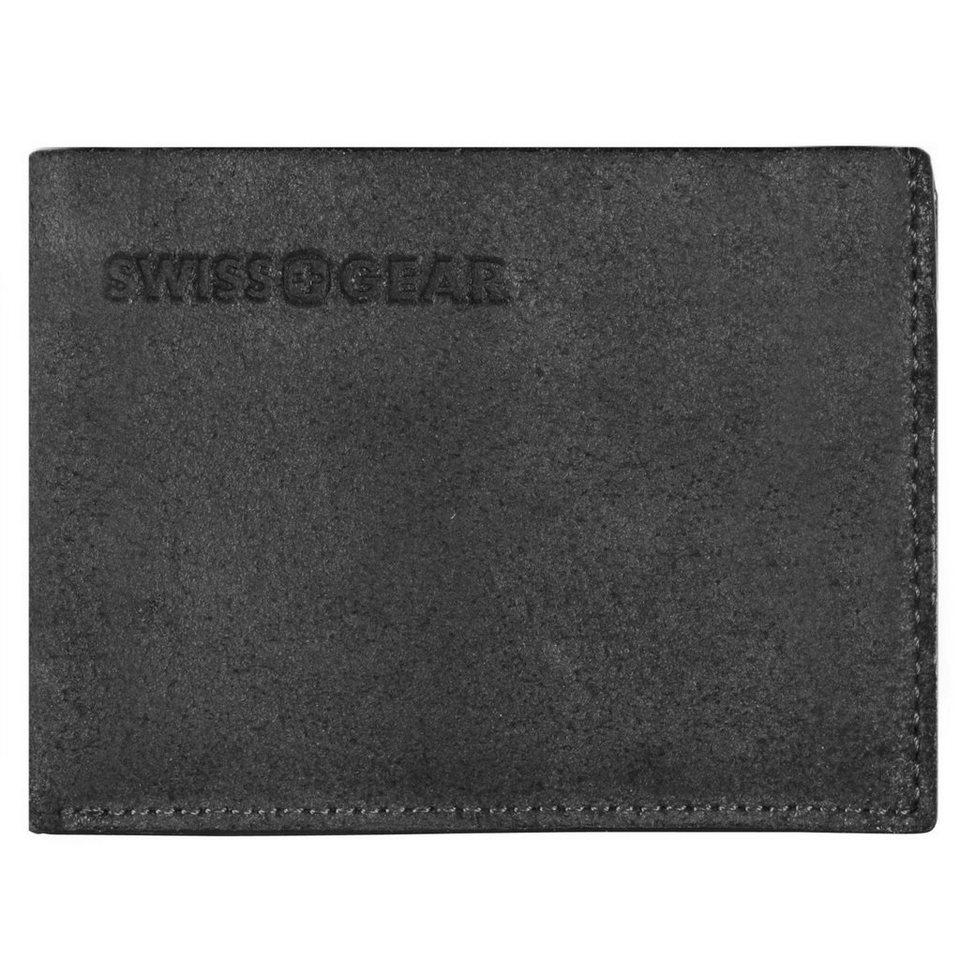 Wenger Wenger Swiss Gear Foggy Kreditkartenetui Leder 11,5 cm in schwarz