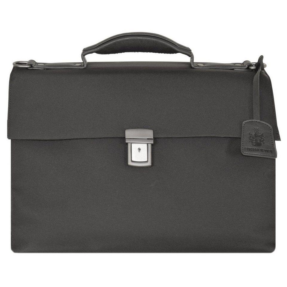 Leonhard Heyden Soho Briefcase Aktentasche 42 cm Laptopfach in schwarz