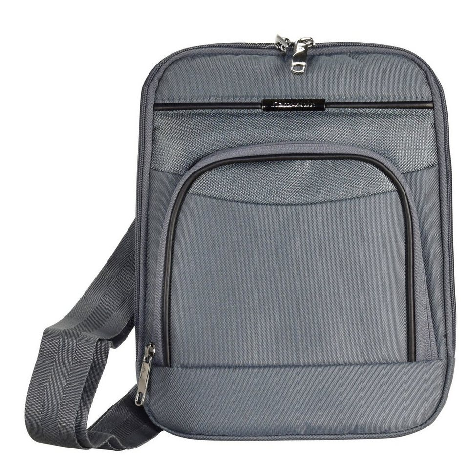 Samsonite Desklite Umhängetasche 22 cm in grey
