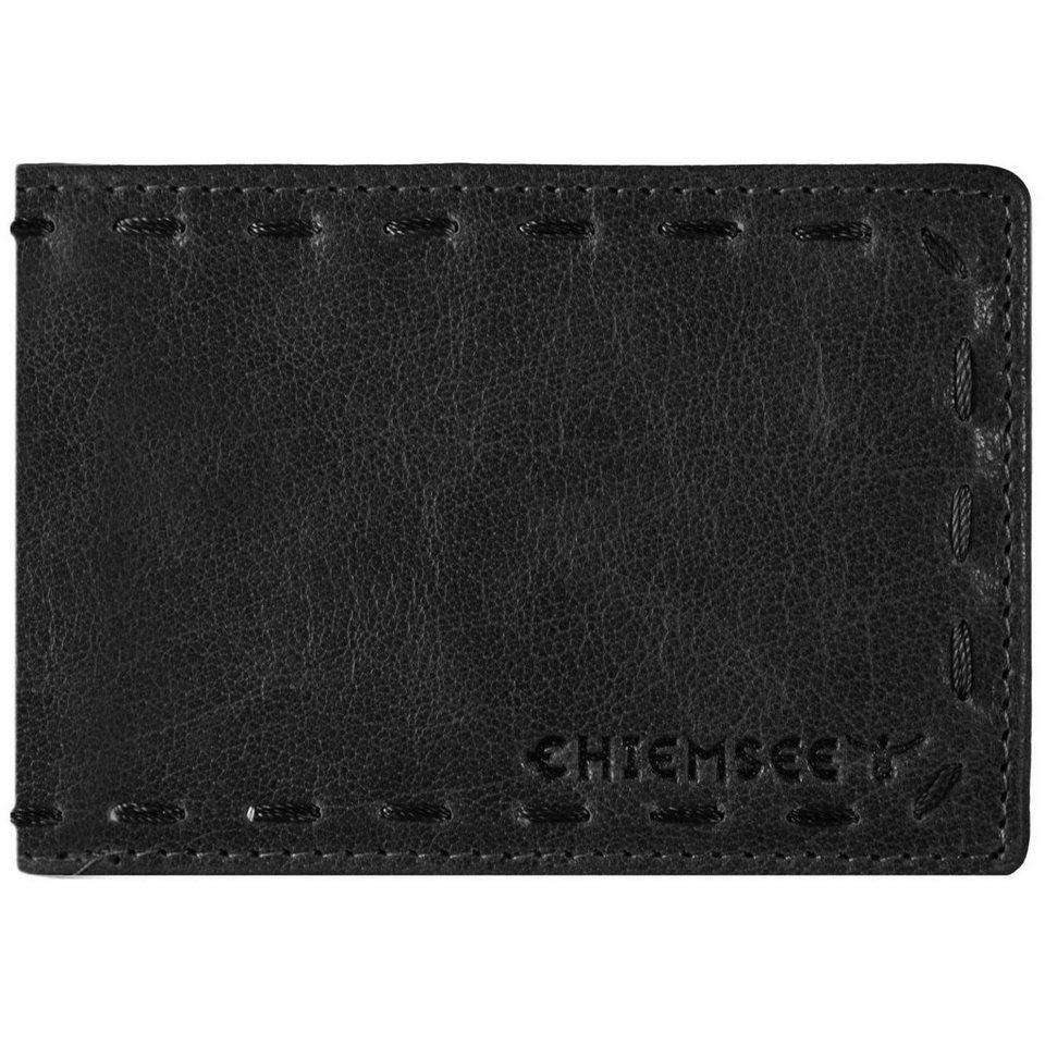 Chiemsee J88 Geldbörse Leder 10,5 cm in schwarz