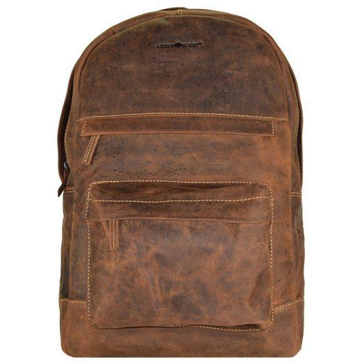Greenburry Vintage Cm Rucksack 42 Laptopfach Retro Leder rrSUwAq