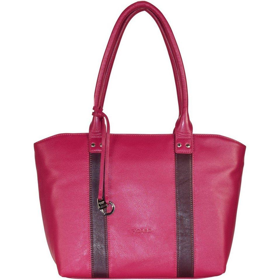 Picard Picard Snow 3 Shopper Tasche Leder 36 cm in pink