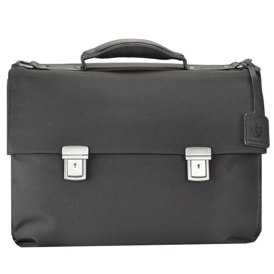 Leonhard Heyden Soho Briefcase Aktentasche 43 cm Laptopfach in black