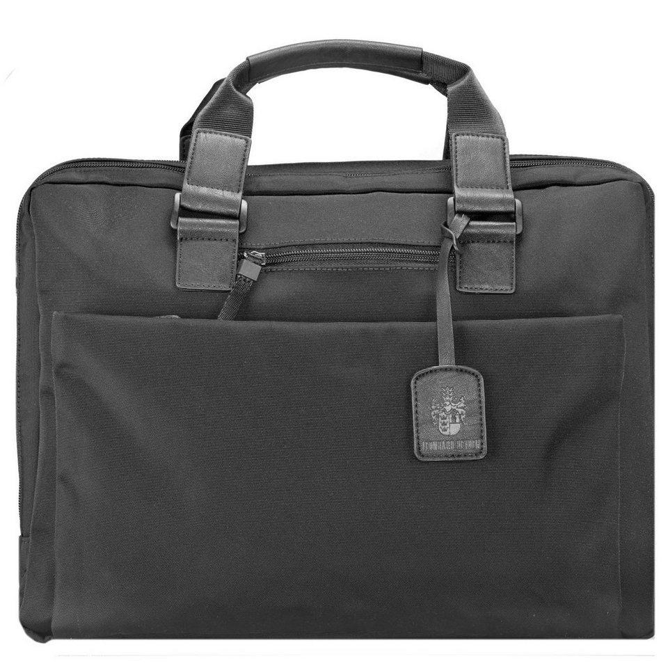 Leonhard Heyden Leonhard Heyden Soho Briefcase Aktentasche 40 cm Laptopfach in black