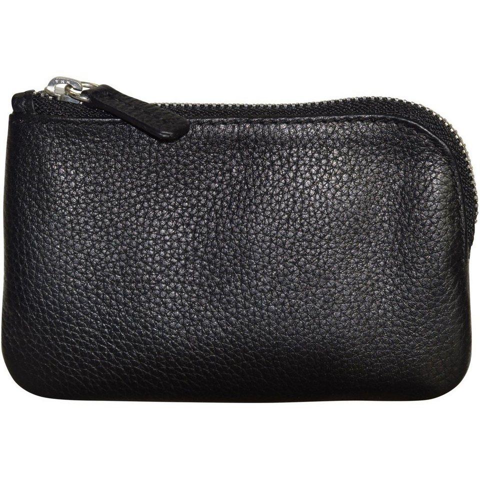 BREE Pocket 105 Schlüsseletui Leder 12 cm in black grained