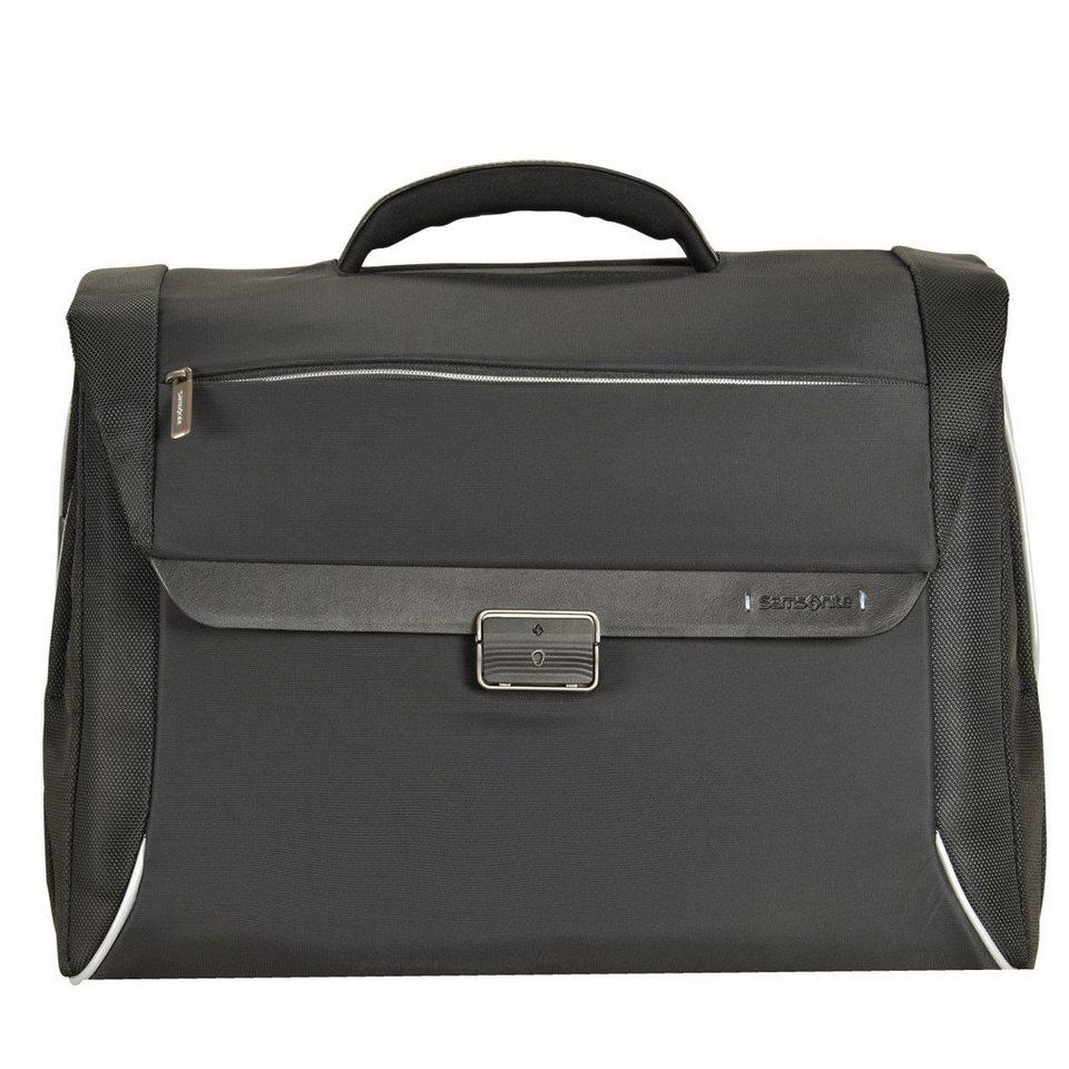 Samsonite Spectrolite Aktentasche Briefcase 46 cm Laptopfach in black