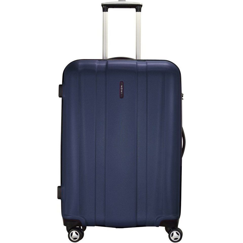 NOWI ABS 4-Rollen Trolley 69 cm in dunkelblau