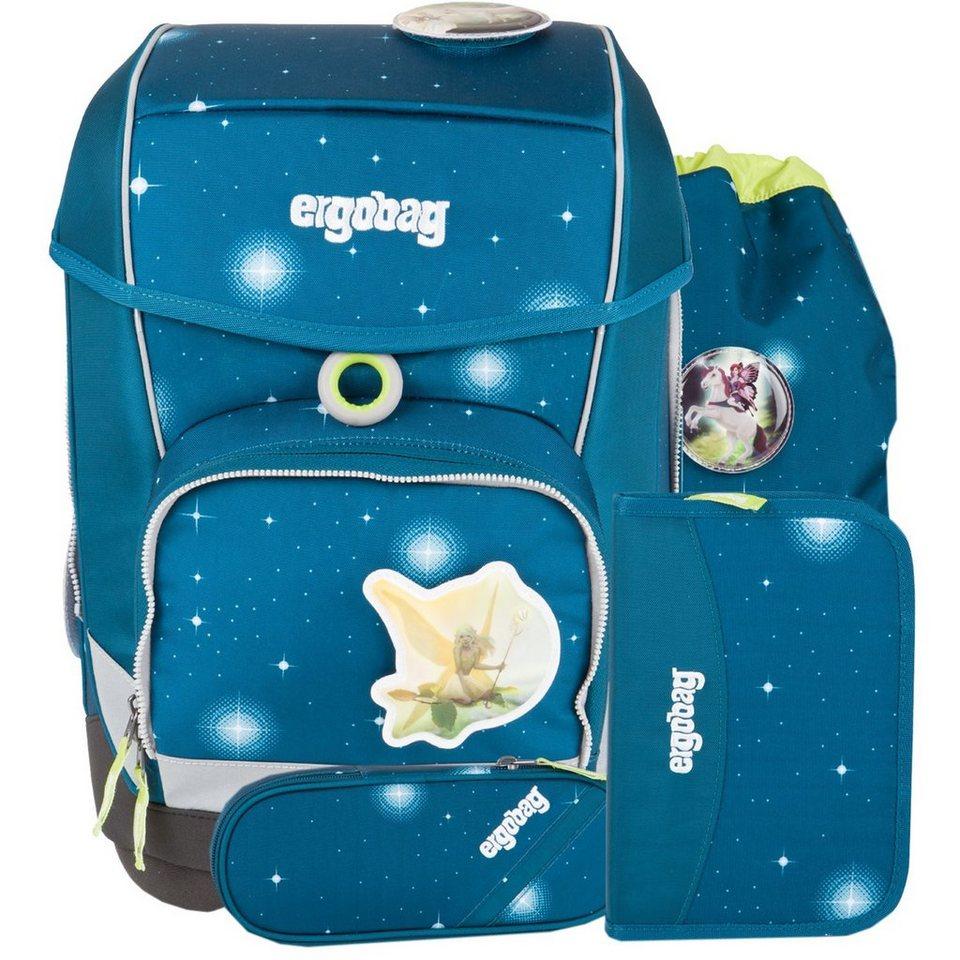 ergobag Ergobag Cubo Special Edition Galaxy Schulrucksack/Schulranzen-Se in SternenwanderBär