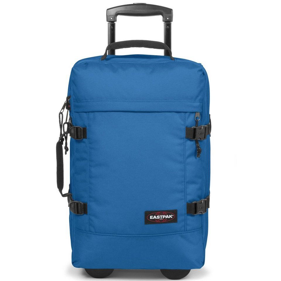 EASTPAK Authentic Collection Strapverz 2-Rollen Trolley 51 cm in full tank blue