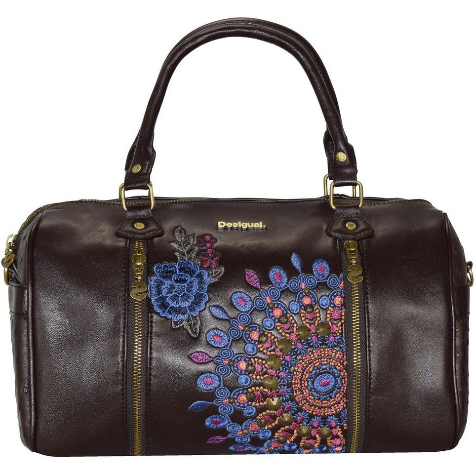 Desigual BOLS Sidney Moonflow Handtasche 34 cm in brown boho