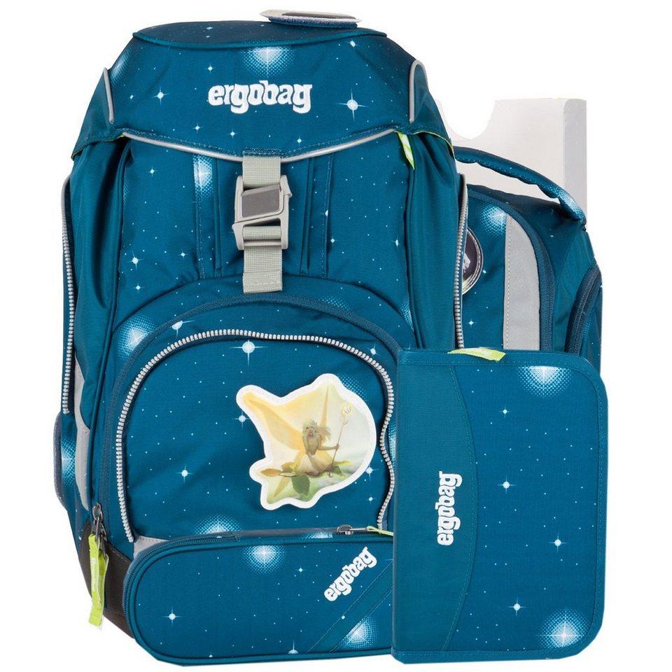 ergobag Ergobag Special Edition Galaxy Schulrucksack / Schulranzen Set 6 in SternenwanderBär