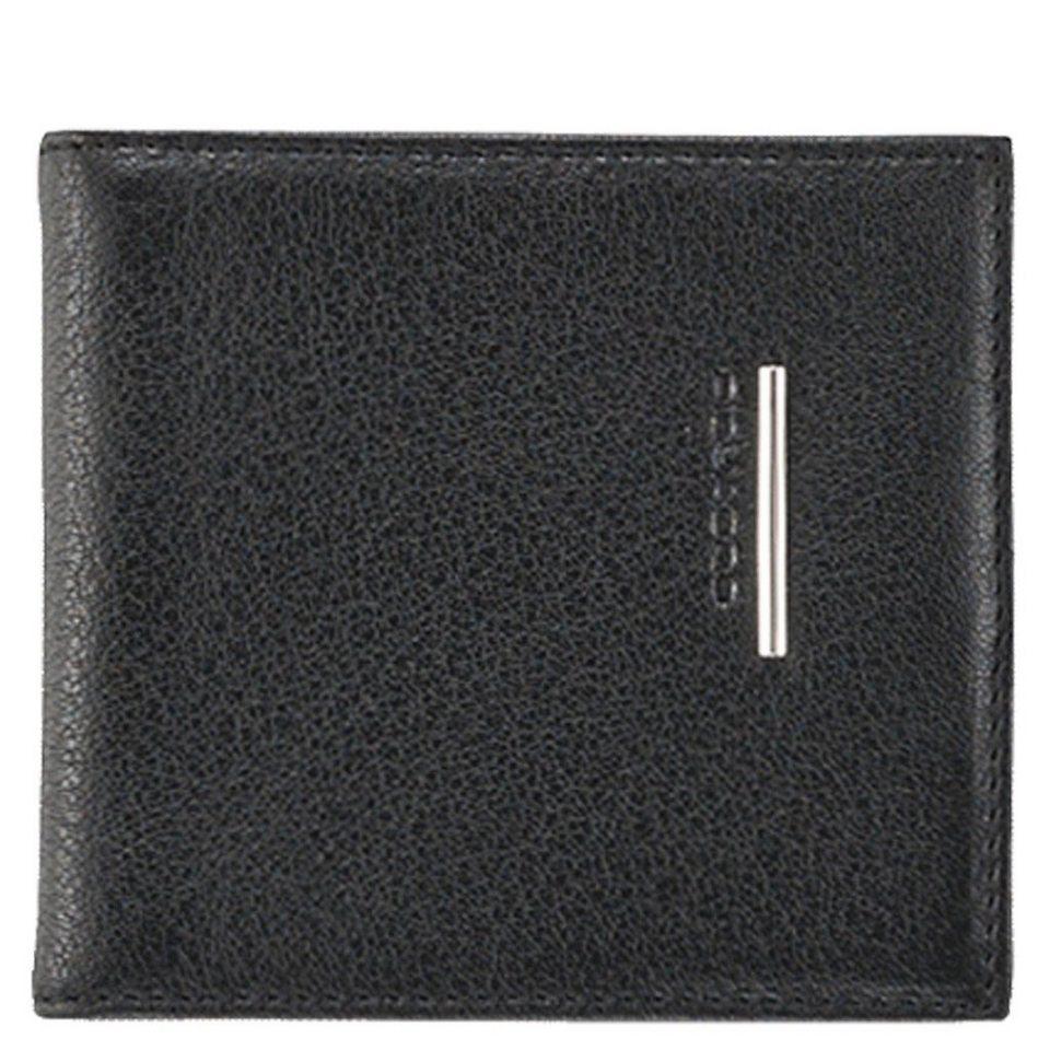 Piquadro Piquadro Modus Geldbörse Leder 10 cm in schwarz