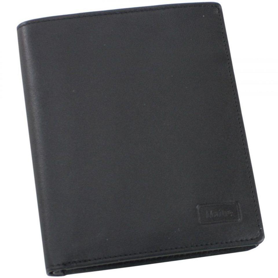 Maître f3 Geldbörse Leder 11 cm in schwarz