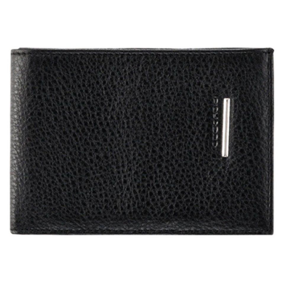 Piquadro Piquadro Modus Geldbörse Leder 13 cm in schwarz