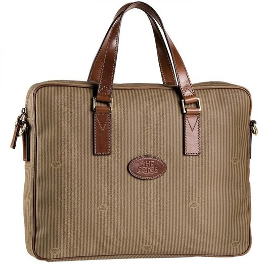 THE BRIDGE Heritage Uomo Aktentasche 40 cm Laptopfach