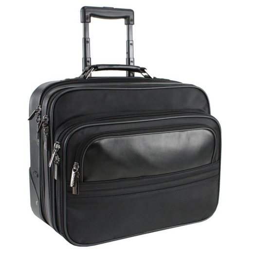 MANO Young Possibility Business-Trolley Leder Laptopfach 42 cm