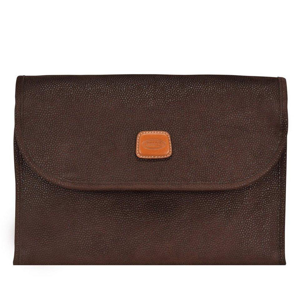 Bric's Bric's Life Kulturtasche 30 cm in brown
