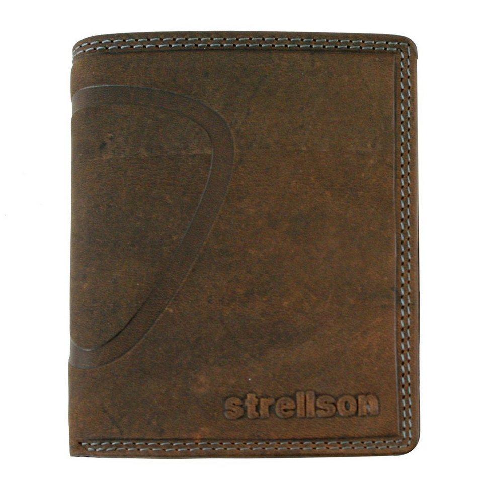 Strellson Baker Street Geldbörse Leder 10 cm in darkbrown