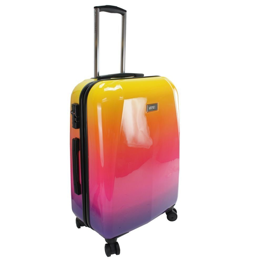 Esprit Polycarbonate Rainbow 4-Rollen Kabinentrolley 55 cm