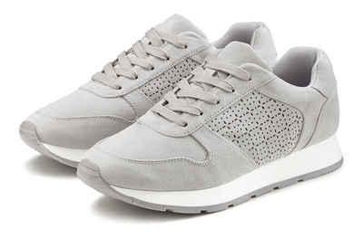 LASCANA Sneaker mit filigranen Cut-Outs
