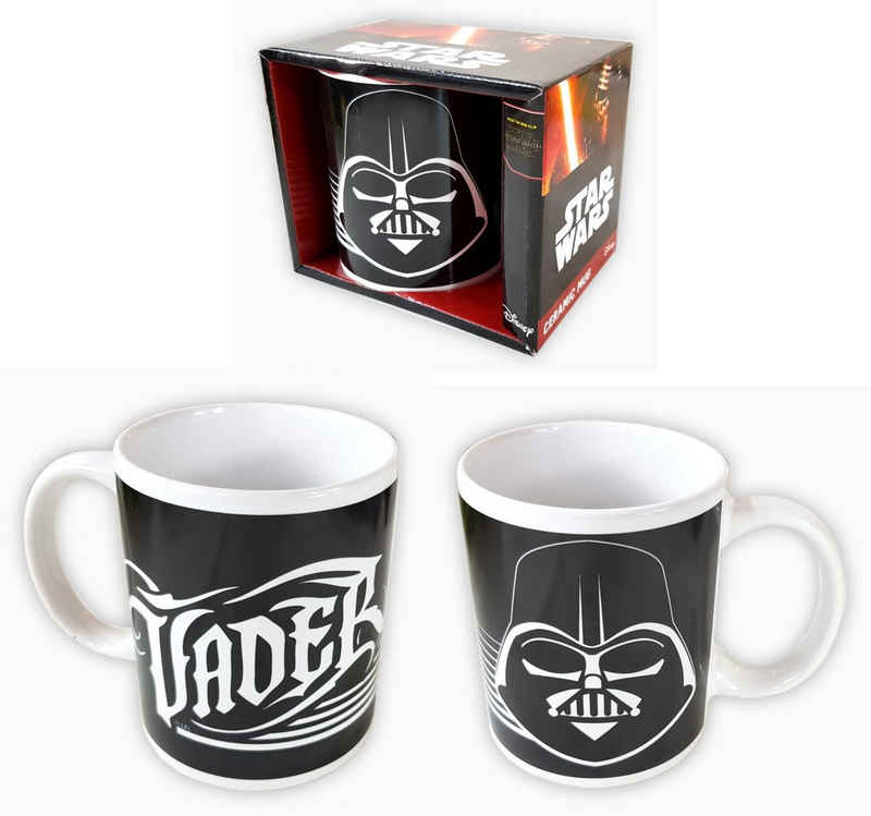 Star Wars Tasse »Star Wars 7 Darth Vader Keramiktasse Kaffeetasse Kaffeebecher 310 ml«
