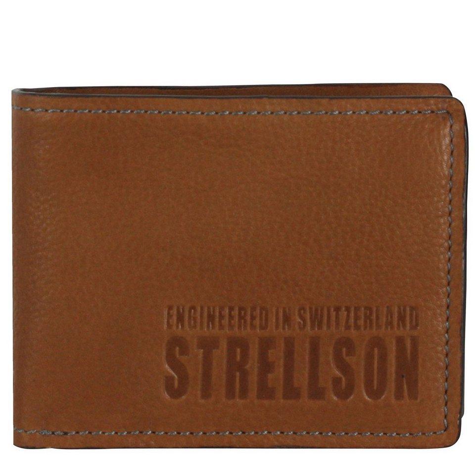 Strellson London Bridge Geldbörse Leder 13 cm in cognac