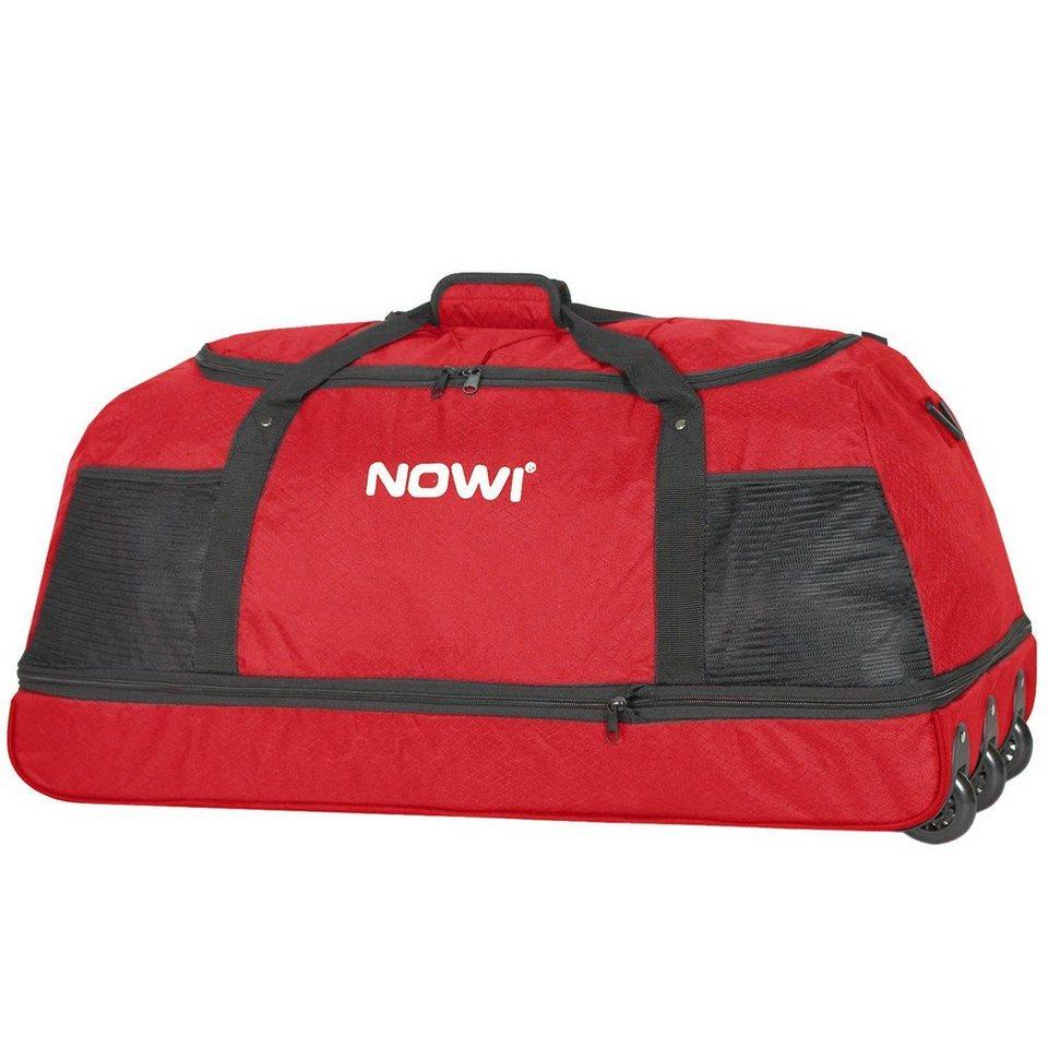 NOWI Nowi XXL-Rollenreisetasche Reisetasche zusammenrollbar / platzsp in rot