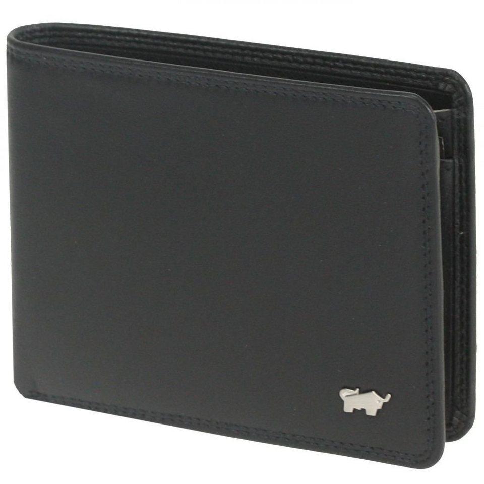 Braun Büffel Braun Büffel Golf Geldbörse Leder 11,5 cm in schwarz