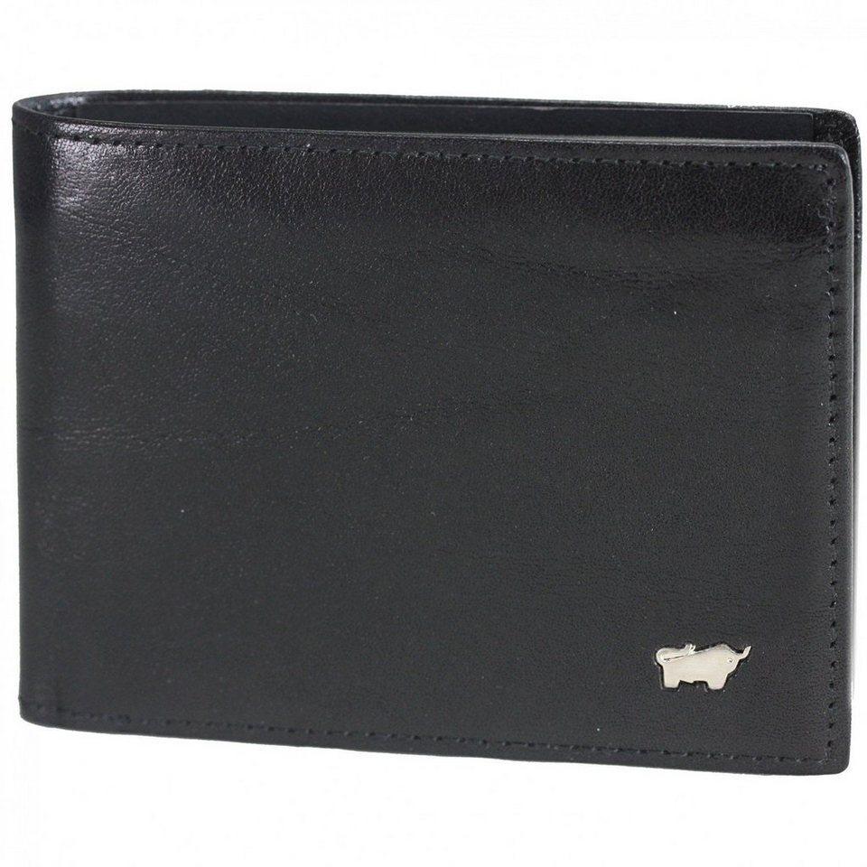 Braun Büffel Basic Geldbörse Leder 11 cm in nachtschwarz