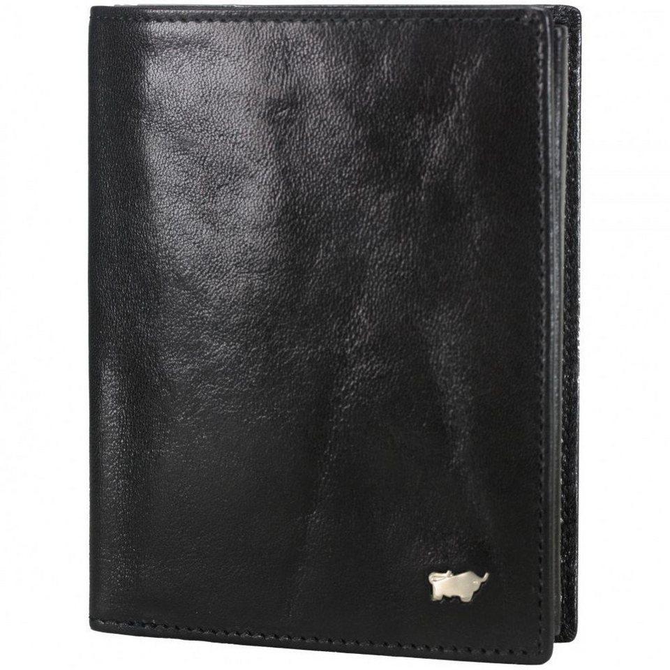 Braun Büffel Basic Geldbörse V Leder 9,5 cm in nachtschwarz