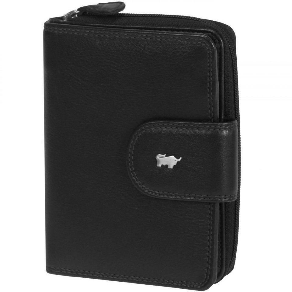Braun Büffel Braun Büffel Golf Geldbörse Leder 10 cm in schwarz