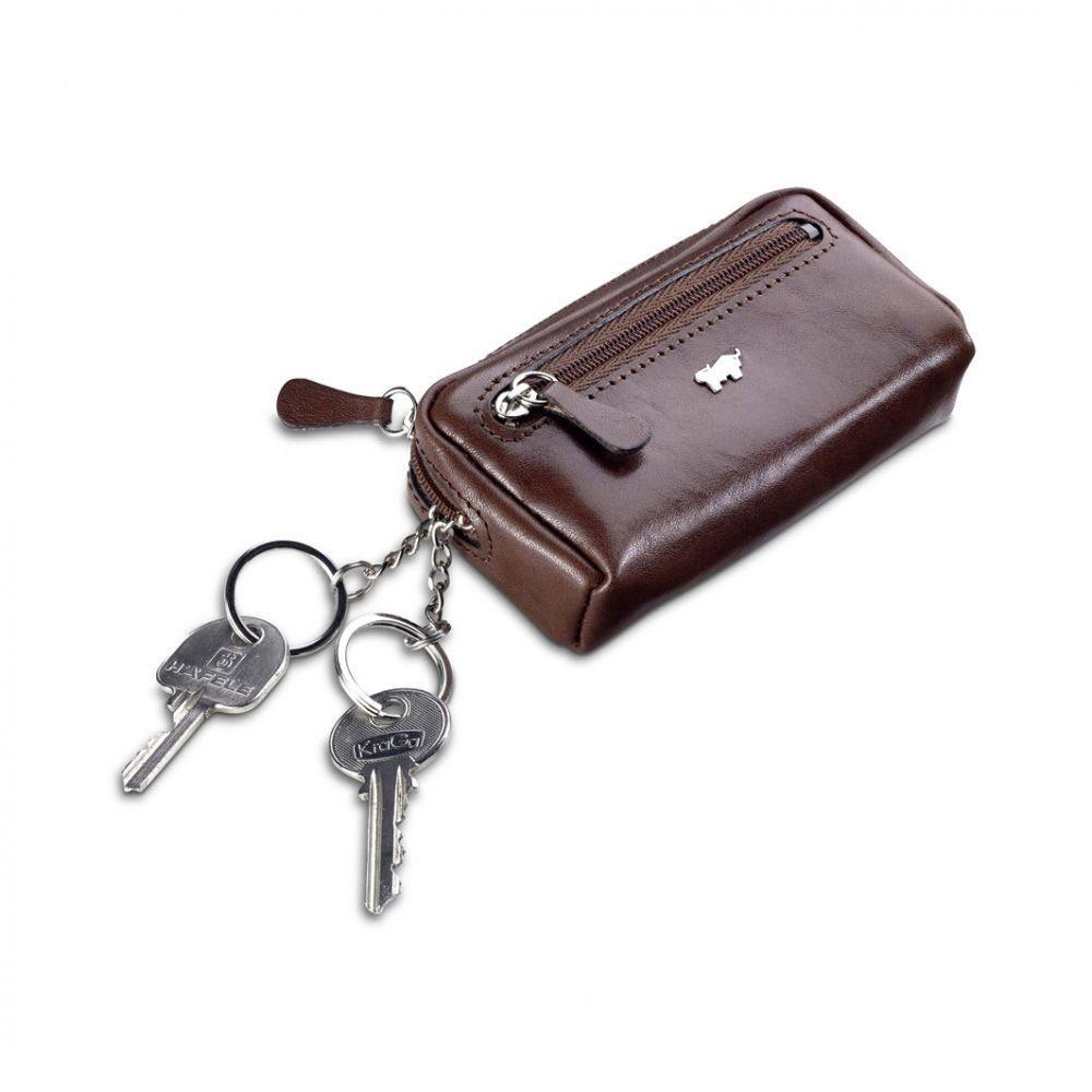Braun Büffel Basic Schlüsseletui Leder 11 cm