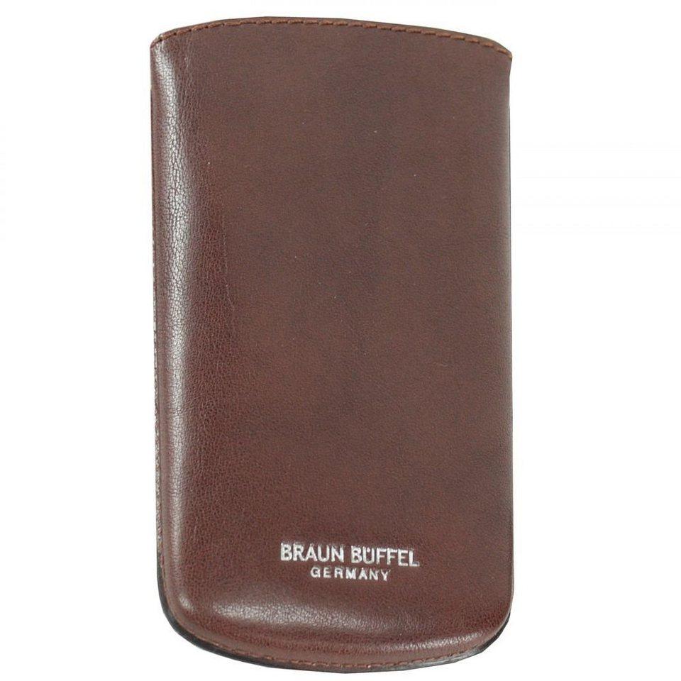 Braun Büffel Basic Schlüsseletui Leder 7 cm in cognac