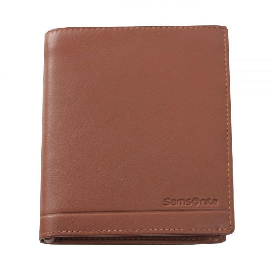 Samsonite Universe Geldbörse Leder 10,5 cm in tan