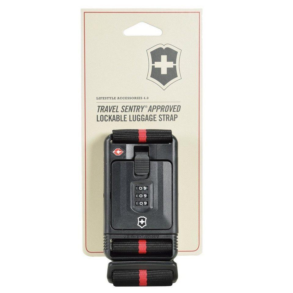 Victorinox Travel Accessories 4.0 Koffergurt 183 cm in schwarz